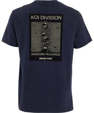 Weird Fish Koi Division Artist T-Shirt Navy Size 5XL