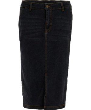 Weird Fish Madison Denim Midi Skirt Grey Size 10