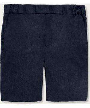 """Navy The 12 Short 9"""" Linen"""