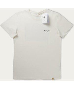 Ecru T-shirt Pegaso