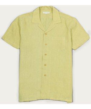 Olivenite Linen Stachio S/S Shirt