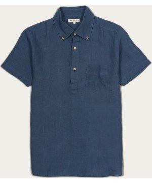 Ensign Blue Linen Ivy S/S Shirt