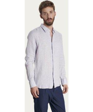 Feel Good Shirt in Light Blue Linen