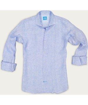 Blue Fiji Linen Shirt