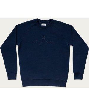 French Navy Logo Sweatshirt