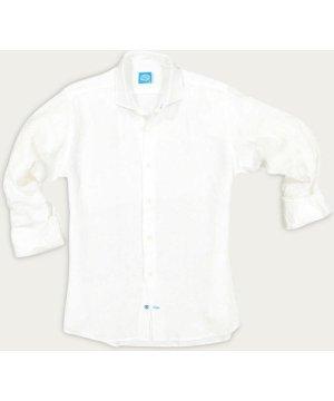 White Fiji Linen Shirt
