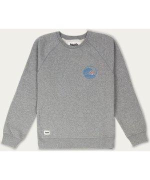 Grey Japanese Wave Sweatshirt