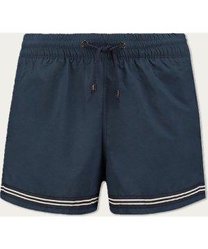 Navy Striped Swimshort