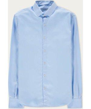 Light Blue Soft Tencel Shirt
