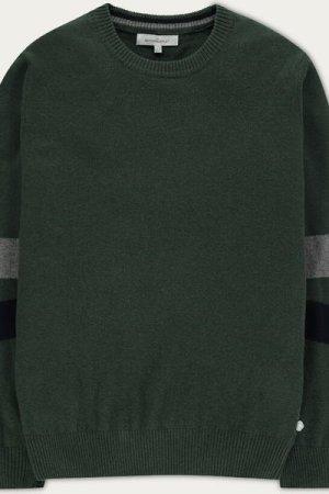 Army Green Soft Merino Jumper