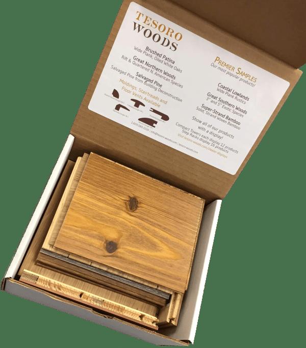 Tesoro Woods Display Premier Sample Box