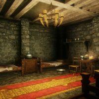 Living quarters in Jorrvaskr