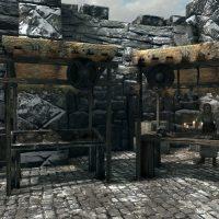 Niranye's stall in the marketplace