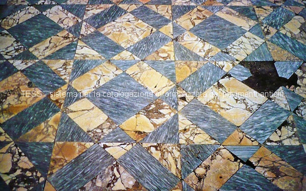 Opus sectile  Tess