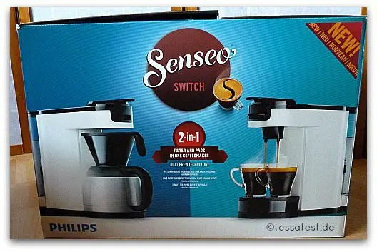 senseo switch 2 in 1 filter und padkaffeemaschine von. Black Bedroom Furniture Sets. Home Design Ideas