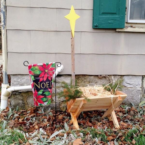 our Manger Build manger