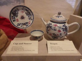 Colonial Period Teapot, Old State House Museum, Boston