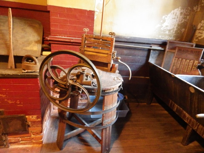 Gibson House Museum, Laundry Room