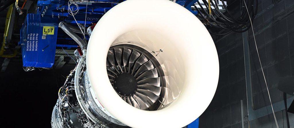 Rolls Royce sustainable jet fuel testing