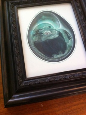 Dragon's Egg Framed