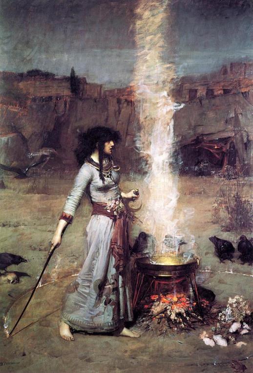 The Magic Circle by John William Waterhouse