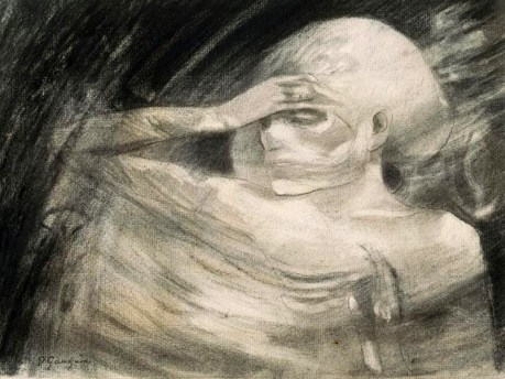 Madame la Mort by Paul Gauguin