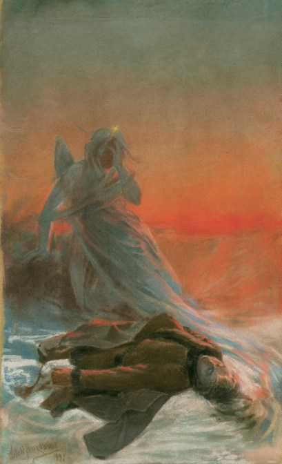Death of Anhelli by Witold Pruszkowski