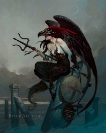 Redd Wing by Brom