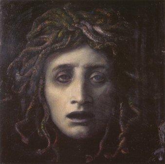 Medusa by Arnold Bocklin