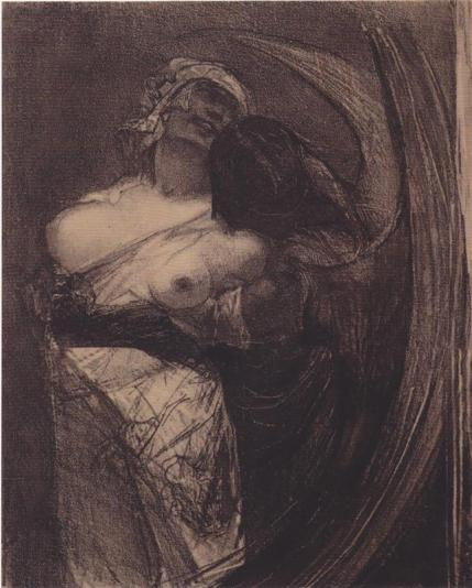 The Cold Devils by Felicien Rops