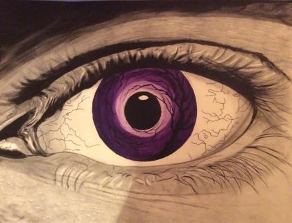 Eyedol (Framed) - 16x20 - $140