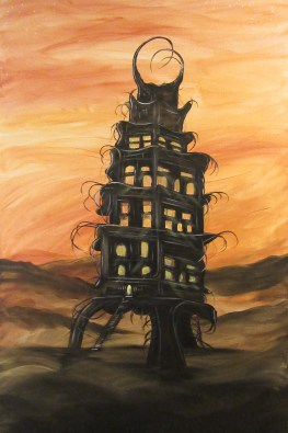 Tower of Souls 24x36 - $50