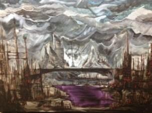 Underhollows - 18x24 - $175