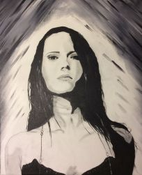 Ashes for Ande - 16x20 - $80