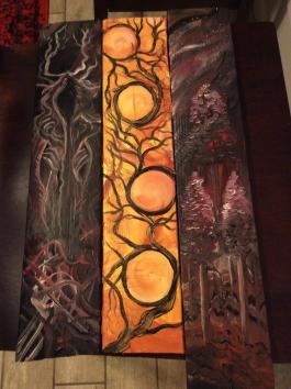 Wood Panel Set 2