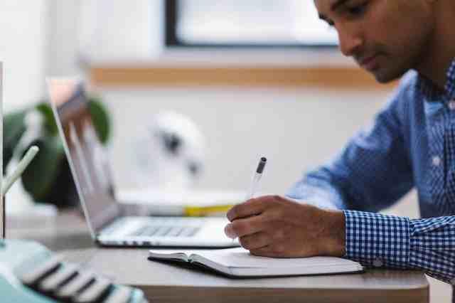 solopreneur writing