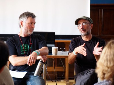American and Spanish film-makers discuss documentaries.