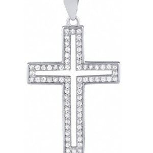 tessories open crystal cross