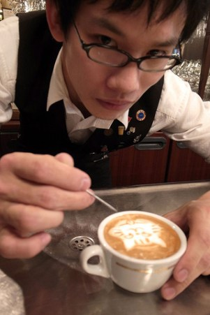 Kazuki Yamamoto at work
