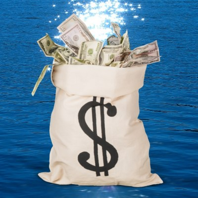Remove Money Blocks with This Prosperity Bath