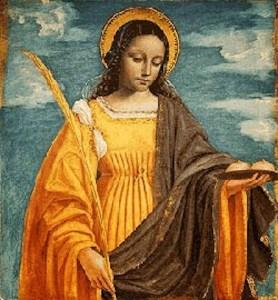 Saint Agatha: Incarnation of the Divine Feminine by Tess Whitehurst