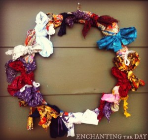 The Wreath of Projects Past by Tess Whitehurst