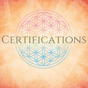 Tess Whitehurst - Shop - Certifications