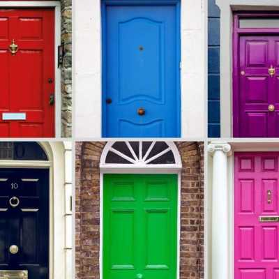 The Magical Door: Power Colors to Paint Your Entrance