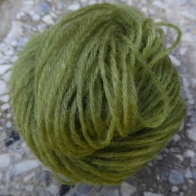 a picture of a bight green mini-skin arranged as a ball