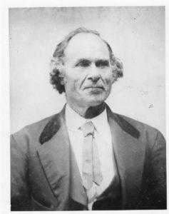 Hiram Ament Tim's Great Great Grandfather