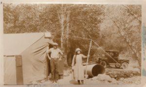 Ranger Station 1924.