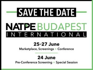 NATPE BUDAPEST INTERNATIONAL - SAVE THE DATE
