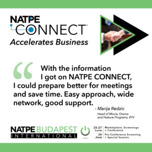 NAPTE Connect Budapest Quotes