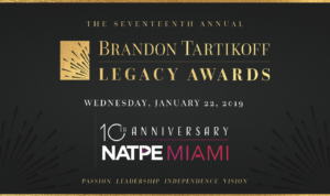 The Seventeenth Annual Brandon Tartikoff Legacy Awards